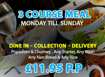 Blue Water Restaurant and Takeaway in Tamworth (3 Course Meal Special)