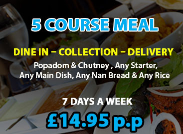 Blue Water Restaurant and Takeaway in Tamworth (5 Course Meal Special)